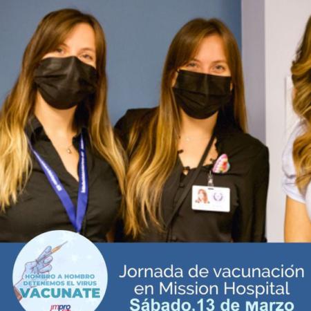 Mission Health Vaccination campaign Latinos Cynthia Paula Penovi